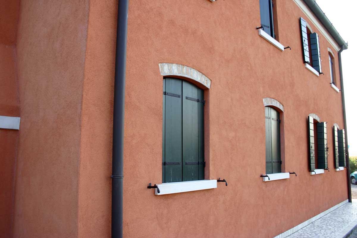 2746 villa mirano intonaco a calce colorificio veneziano - Colori intonaco esterno ...